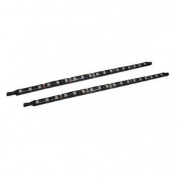 REBORNLEAGUE Lot de 2 bandes LED (16 LED/bande) - L 30 cm