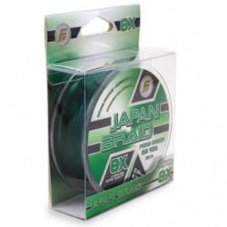 LINEAEFFE Tresse de peche Japan Braid 8X - Vert mousse - Ø 0