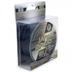 LINEAEFFE Tresse de peche Japan Braid 8X - Gris - Ø 0,22 mm