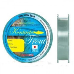 VOLKIEN Fil fluorocarbone Kontacto - Fluoro Trout - 50 m - 2