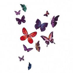 WALL IMPACT Stickers Papillons - 40x59x1 cm - Vinyle calandr