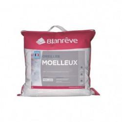 BLANREVE Oreiller Moelleux 60x60 cm blanc