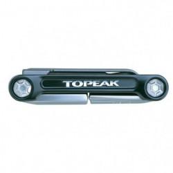 TOPEAK Outils multifonctions Mini 9 Pro - 9 outils - Noir