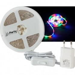 PARTY STRIP300RGBA Flexible lumineux à led rvba - 3m - Blanc