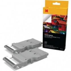 KODAK PMC 20 Cartouche et papier pour Mini PRINTER - 20 phot