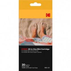 KODAK KODMC20 Pack de 20 feuilles compatible Mini Shot et im