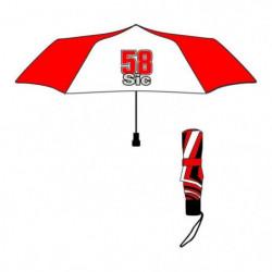 GP MOTORS Parapluie pliable Marco Simencheli 58 Sic - Rouge