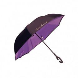 LITTLE MARCEL Parapluie inversé Polka Violet
