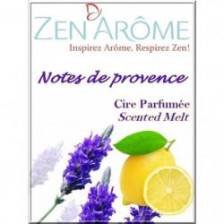 ZEN'AROME Cire Parfumée Note de Provence - Parfum d'Ambiance
