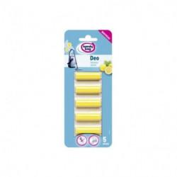 HANDY BAG 214310 Pack de 5 parfums pour aspirateurs traîneau