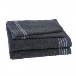 JULES CLARYSSE Lot de 2 serviettes + 2 gants de toilette Car