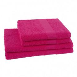 JULES CLARYSSE Lot de 2 serviettes + 2 draps de bain Viva -