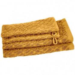 VENT DU SUD Ensemble 2 serviettes invité + 2 gants THALIA -