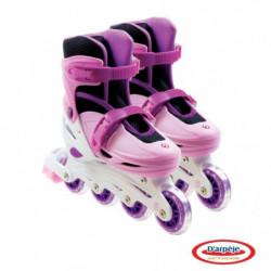 FUNBEE Rollers patins en Ligne Fille T.1