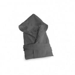 SOLEIL D'OCRE Peignoir Nid d'Abeille a capuche - Taille XL -