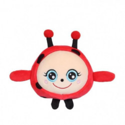 """GIPSY TOYS Squishimals 10 cm coccinelle rouge """"Dotty"""""""