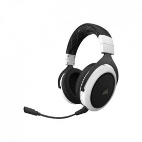 CORSAIR Casque GAMER HS70 WIRELESS - Blanc
