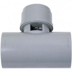 WIRQUIN Anti-vide en T VP17 - Pour tube Ø 40 mm - a coller