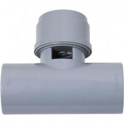WIRQUIN Anti-vide en T VP16 - Pour tube Ø 32 mm - a coller