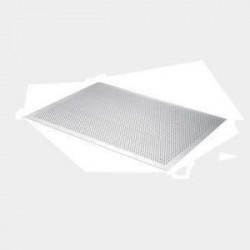 DE BUYER Plaque aluminium perforée plate - 30 x 20 cm - Gris