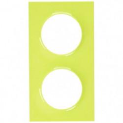 SCHNEIDER ELECTRIC Plaque de finition 2 postes Odace Styl ve