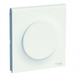 SCHNEIDER ELECTRIC Plaque couvercle prise 1 poste Odace Styl