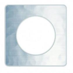 SCHNEIDER ELECTRIC Plaque de finition 1 poste Odace Touch al