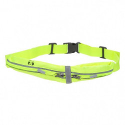 CAO CAMPING Ceinture a 2 poches - Jaune