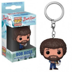 Porte-clé Funko Pocket Pop! The Bob Ross: Bob Ross