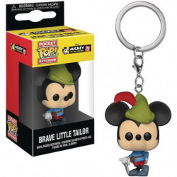 Porte-clé Funko Pocket Pop! Disney - Mickey: Brave Little Ta