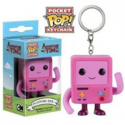 Porte-clé Funko Pocket Pop! Adventure Time : Blushing B-MO