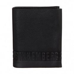 BIKKEMBERGS Portefeuille DB-WALLET STRIPE D1306 Noir Homme