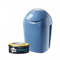 TOMMEE TIPPEE Sangenic Tec Poubelle a Couches Bleue