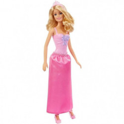 BARBIE - Poupée Princesse - Robe Rose