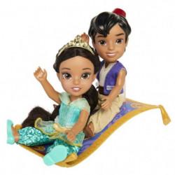 ALADDIN & JASMINE Coffret 2 poupées - 15 cm