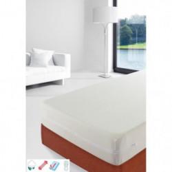 STIPI Rénove-matelas 100% Coton 90x190-200 cm blanc