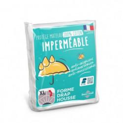SWEETHOME Protege-matelas 100% coton - Imperméable - Anti-ac