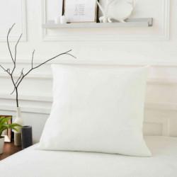 SWEETNIGHT Protege-oreiller PREMIUM MARIN 65x65 cm - Blanc