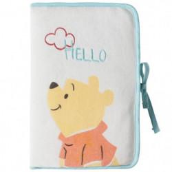 DISNEY Protege carnet de santé Winnie Hello Funshine - Velou