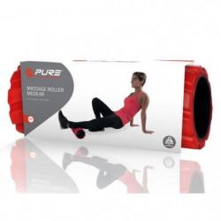 PURE2IMPROVE Rouleau en mousse  - Fitness  - Rouge