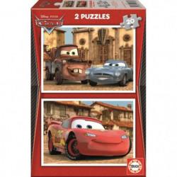CARS Puzzle 2 x 20 Pieces