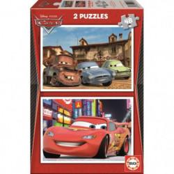 CARS Puzzle 2 x 48 Pieces