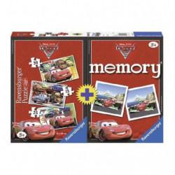 CARS Multipack Puzzle + Memory - Disney