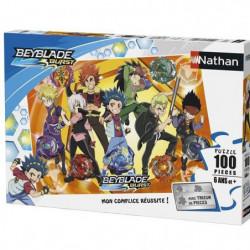 BEYBLADE Puzzle Photo de famille Beyblade Burst 100 pcs