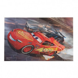 CARS 3 - Boite 3 Puzzles Image Effet 3D Spinmaster