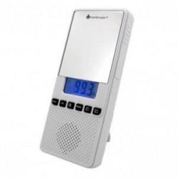 SOUNDMASTER BR80 Radio de salle de bain avec miroir - Blanc