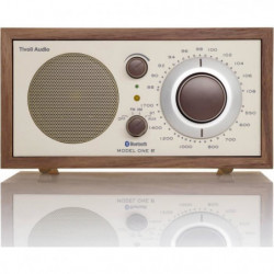TIVOLI One Radio Bluetooth - Retro, Classic - Noyer et beige