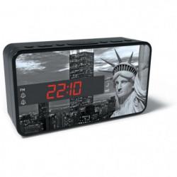 BIGBEN RR15LIBERTY Radio Réveil - Décor statue de la liberté
