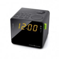 MUSE M-187 CR Radio Reveil Double Alarme - Tuner PLL FM - 20