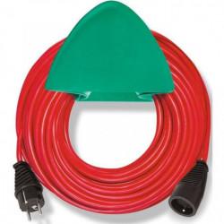 BRENNENSTUHL Rallonge électrique rouge 15m H05VV-F 3G1.5 ave